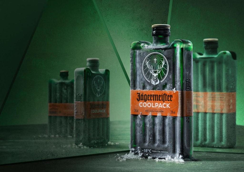 ледяная бутылка Jägermeister Coolpack