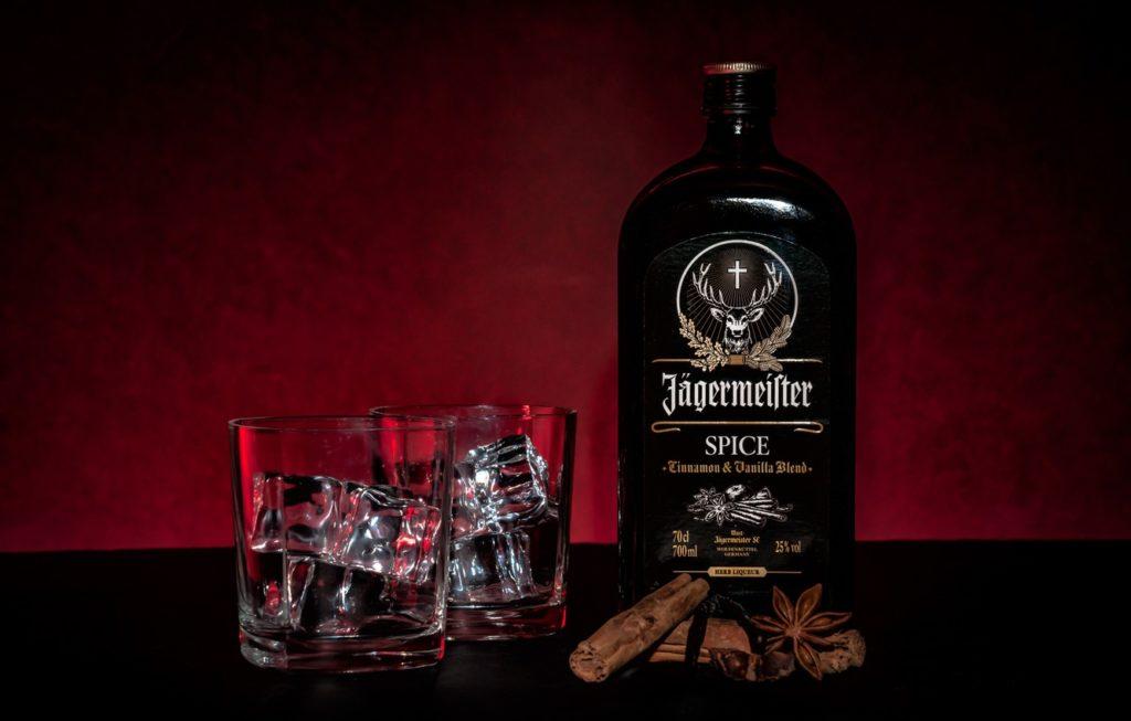 Бутылка с Jägermeister Spice